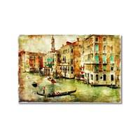 Tictac Venedik 8 Kanvas Tablo - 40X60 Cm