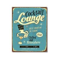 Tictac Cocktail Lounge Kanvas Tablo - 50X75 Cm