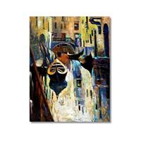 Tictac Venedik 9 Kanvas Tablo - 50X75 Cm