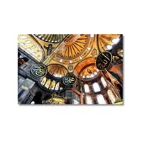 Tictac Ayasofya 4 Kanvas Tablo - 60X90 Cm