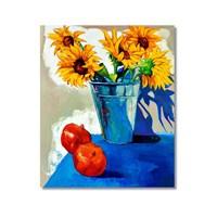 Tictac Dekoratif Naturmort Kanvas Tablo - 50X75 Cm