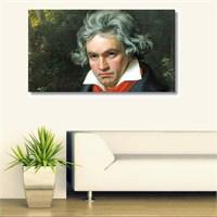 Tictac Beethoven Kanvas Tablo - 40X60 Cm
