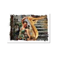 Tictac Dans Kanvas Tablo - 50X75 Cm