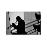 Tictac Trompet Kanvas Tablo - 40X60 Cm