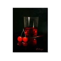 Tictac Vişne Suyu Kanvas Tablo - 40X60 Cm