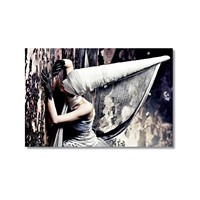 Tictac Dekoratif Kanvas Tablo - 60X90 Cm