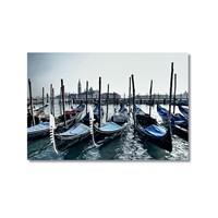 Tictac Venedik Gondolları 4 Kanvas Tablo - 40X60 Cm