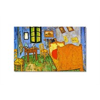 Tictac Van Gogh Oda Kanvas Tablo - 40X60 Cm