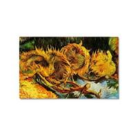 Tictac Van Gogh Ayçiçekleri 2 Kanvas Tablo - 60X90 Cm