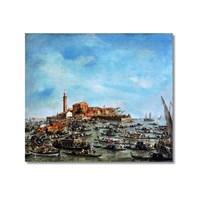 Tictac Venedik 4 Kanvas Tablo - 50X50 Cm
