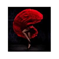 Tictac Tango Kanvas Tablo - 60X60 Cm