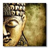 Tictac Buddha Kanvas Tablo - 50X50 Cm - 50X50 Cm