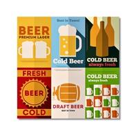 Tictac Beer Kanvas Tablo - 70X70 Cm