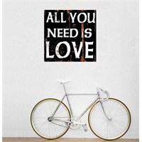 Tictac All You Need Kanvas Tablo - 60X60 Cm