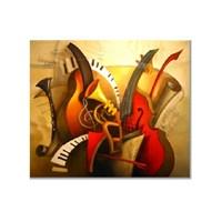 Tictac Enstürmanlar 2 Kanvas Tablo - 50X50 Cm