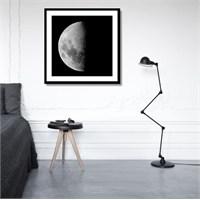 Tictac Yarım Ay Kanvas Tablo - 50X50 Cm