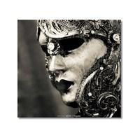 Tictac Venedik Mask Kanvas Tablo - 60X60 Cm