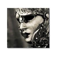 Tictac Venedik Mask Kanvas Tablo - 50X50 Cm