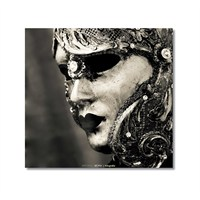 Tictac Venedik Mask Kanvas Tablo - 70X70 Cm