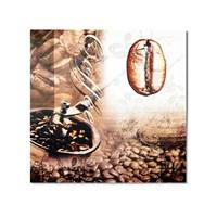 Tictac Kahve Çekirdeği 1 Kanvas Tablo - 50X50 Cm
