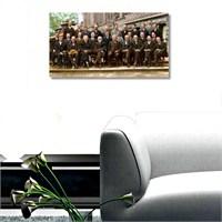 Tictac Dahiler Kanvas Tablo - 50X100 Cm