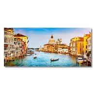 Tictac Venedik 3 Kanvas Tablo - 40X80 Cm