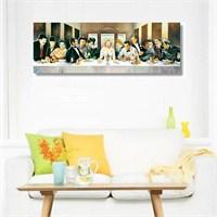 Tictac Hollywood Son Yemek Kanvas Tablo - 30X120 Cm