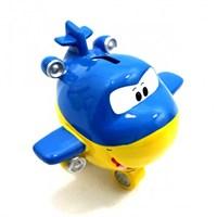 Giftpoint Özel Tasarım Yaylı Mavi Kumbara