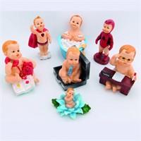 Giftpoint Dekoratif Bebek Biblo Set 7 Adet