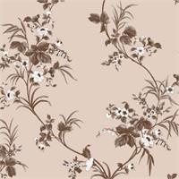 Bien Forever 15212 Çiçek Desenli Yerli Duvar Kağıdı