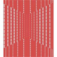 Bien 4825 Çizgili Kırmızı Duvar Kağıdı