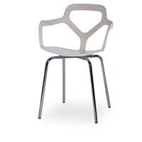 Sefes Excul 4 Adet Sandalye Beyaz