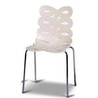 Sefes Kelebek 2 Adet Sandalye Beyaz