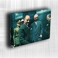 Doku Canvas Baskı Atatürk Atge-045/ 50*50
