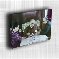 Doku Canvas Baskı Atatürk Atge-056/ 50*50