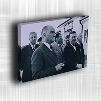 Doku Canvas Baskı Atatürk Atge-118/ 50*50