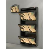Papuchbox Metal Kapı Önü Ayakkabılık Ve Posta Kutusu