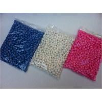 Toptansüs Kayısı Çekirdekli Şeker (1 Kg Paketlerde) 5 Kg / Paket - Beyaz