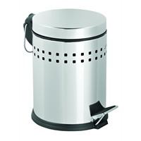 Deppot Pedallı Delikli Çöp Kovası 3 Lt