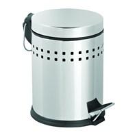 Deppot Pedallı Delikli Çöp Kovası 5 Lt