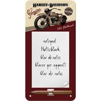 Nostalgic Art Harley Flathead Magnetli Not Defteri