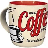 Nostalgic Art Strong Coffe Kupa