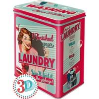 Nostalgic Art Finished Your Laundry Teneke Saklama Kutusu (Large)