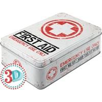 Nostalgic Art First Aid Kit Yatay Teneke Saklama Kutusu