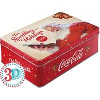 Nostalgic Art Coca Cola Kabart Malı Yatay Teneke Saklama Kutusu
