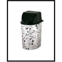 Metalize Klik Çöp Kovası - 5,6 Lt