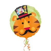 Kullanatmarket Neşeli Sirk Kaplan Folyo Balon 43 Cm 1 Adet