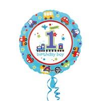 KullanAtMarket Tatlı 1 Yaş Erkek Folyo Balon 43 Cm 1 Adet