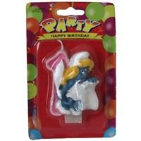 Pandoli Şirine Modelli 1 Yaş Doğum Günü Mumu