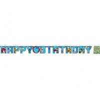 Pandoli Transformers Happy Birthday Banner